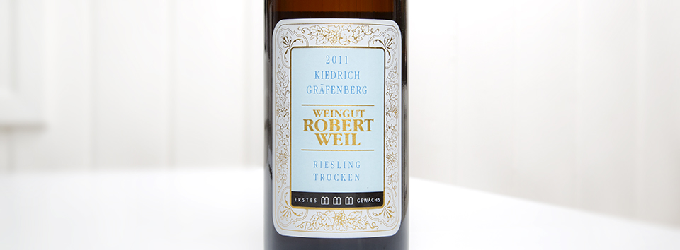 Robert Weil Grafenberg Riesling Trocken 2011-1