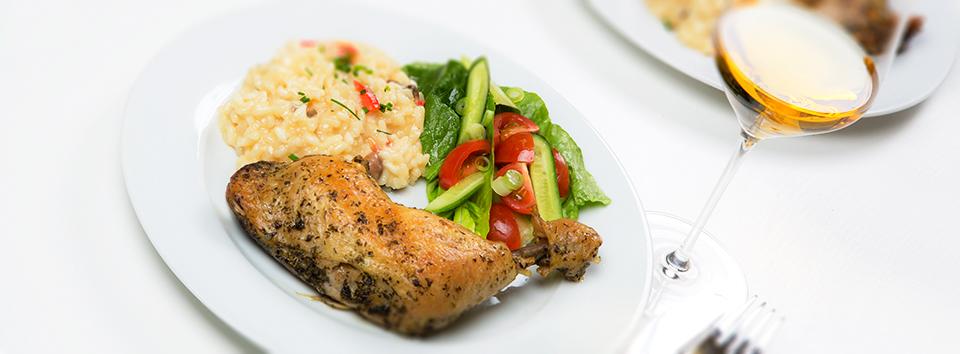 Kyllingconfit med risotto_1