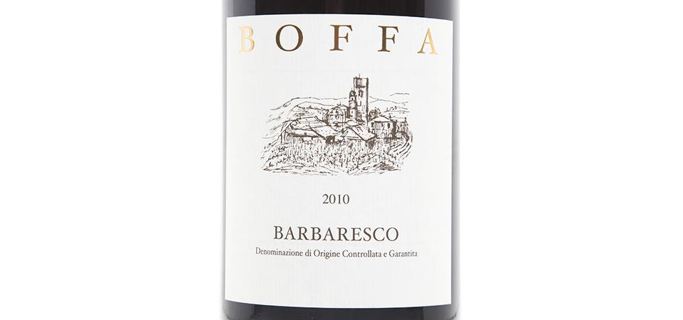 Boffa Barbaresco 2010