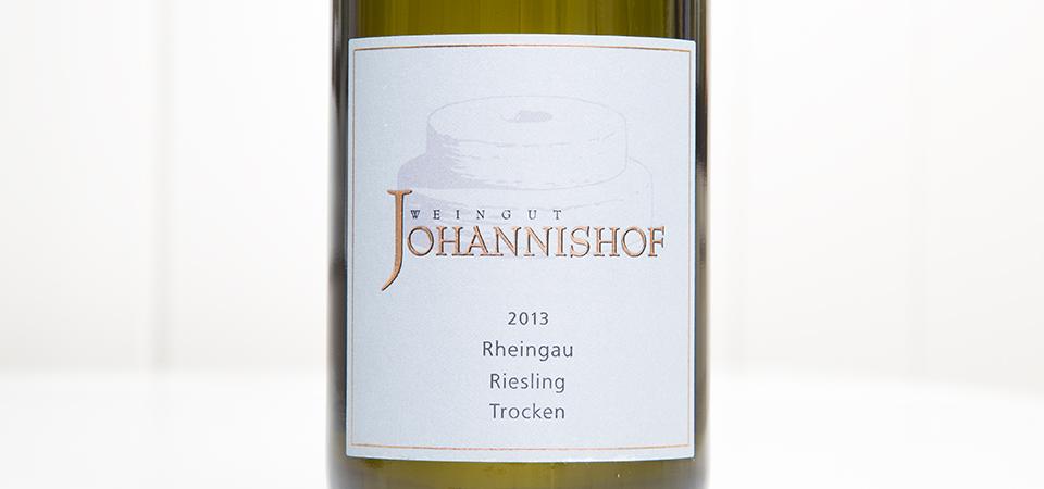 Johannishof Riesling 2013_