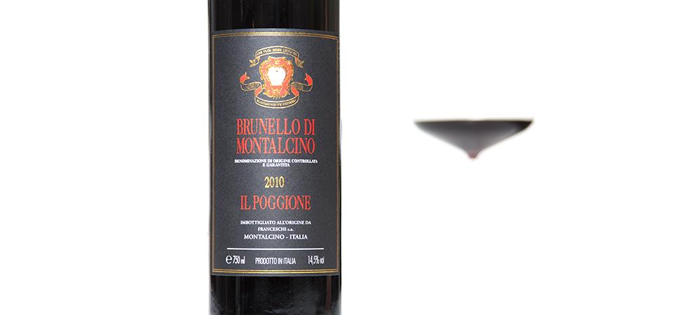 Il Poggione Brunello 2010-A