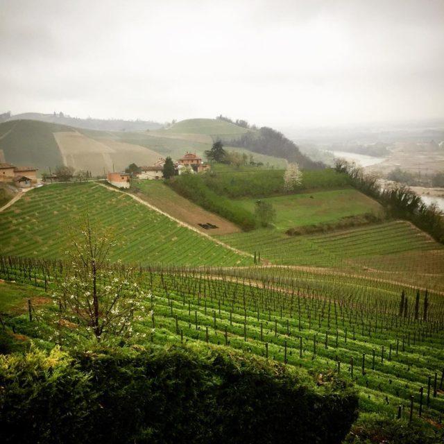 Rain in piemonte today too but Im enjoying the viewhellip