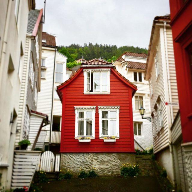 Bergen  home family