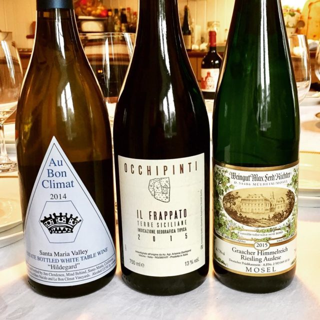 Some of yesterdays lineup aubonclimat hildegard Fantastic rich creamy andhellip