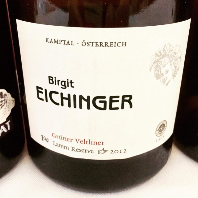 An absolutely lovely grunerveltliner from Birgit Eichinger Fresh and livelyhellip