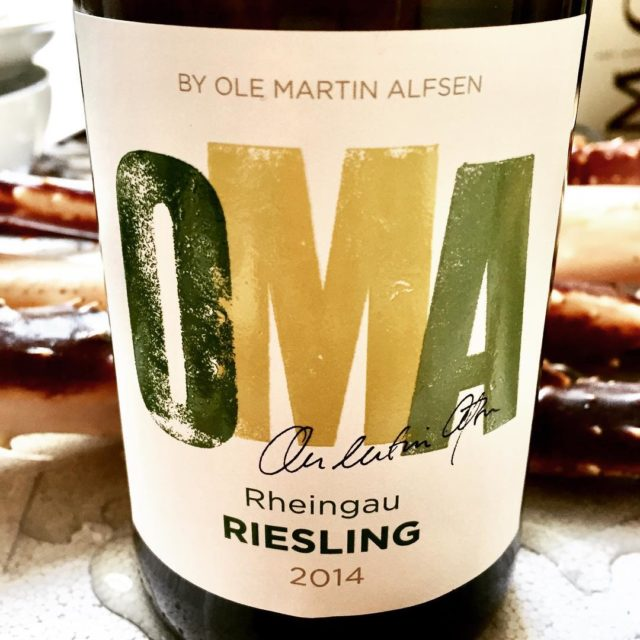 OMAs Riesling is drinking perfectly now! stunning riesling omamatogvin klostereberbachhellip