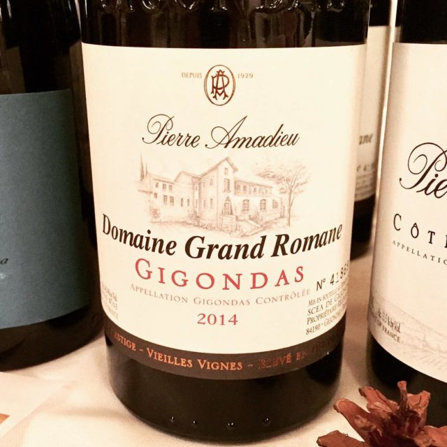 Superfine Gigondas 2014 made on 80 grenache and 20 mourvedrehellip