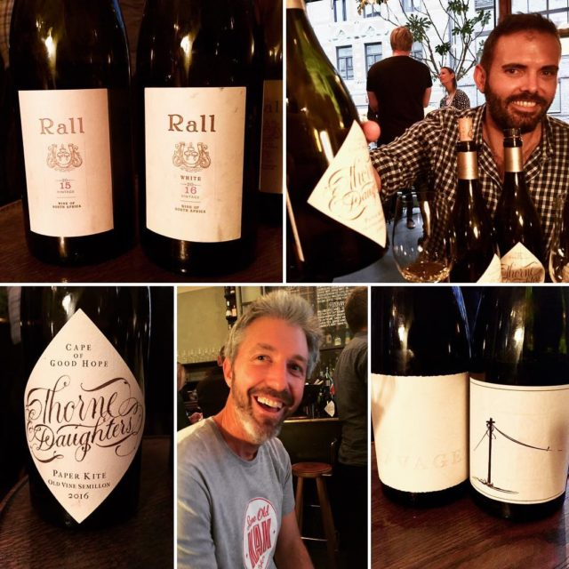 Good wines good people southafricanwines rallwines rallwhite thorneanddaughters johnseccombe savagewineshellip