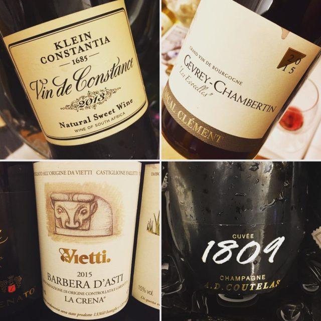 Fab wines! kleinconstantia pascalclement viettiwines adcoutelas