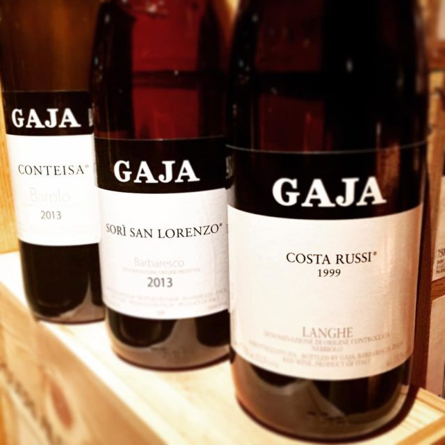 Great Gaja tasting tonight! Of the 9 wines tasted thesehellip